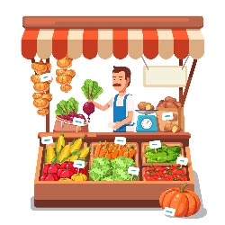Menjual Sayuran Organik