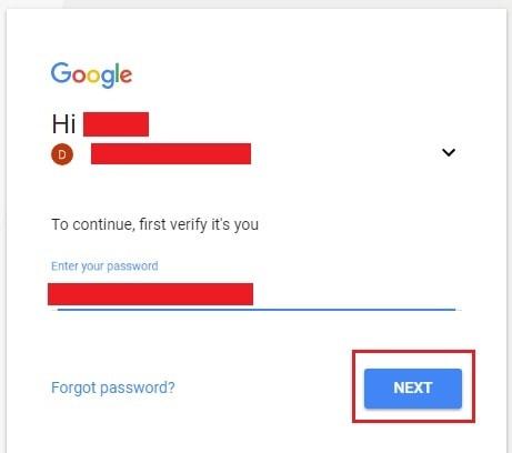diminta masukkan password Anda